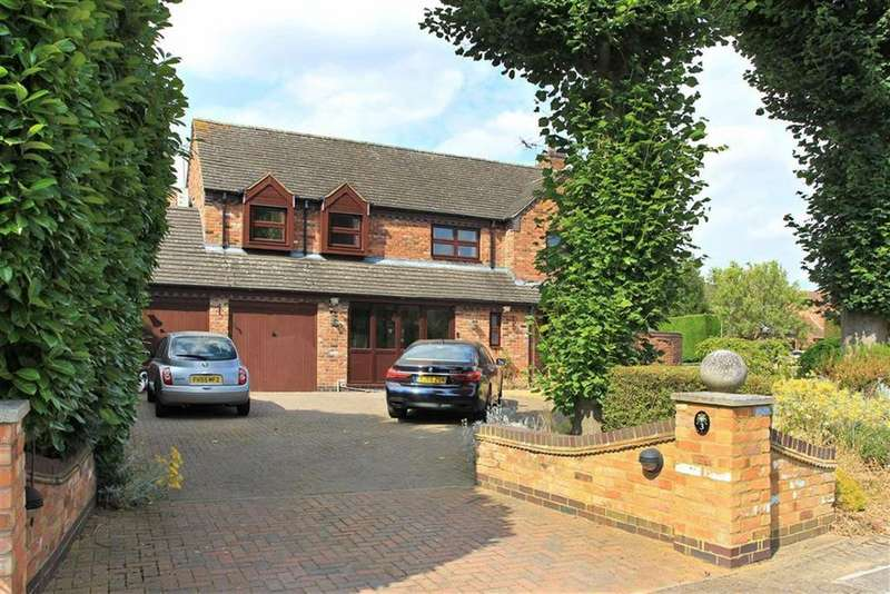 6 Bedrooms Detached House for sale in Bramley Orchard, Bushby, Leicester