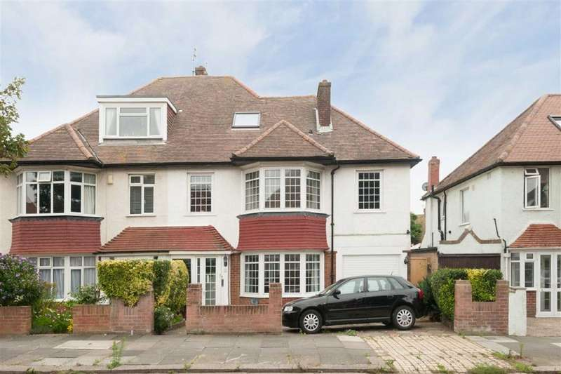 4 Bedrooms Semi Detached House for sale in Roman Road, Hove