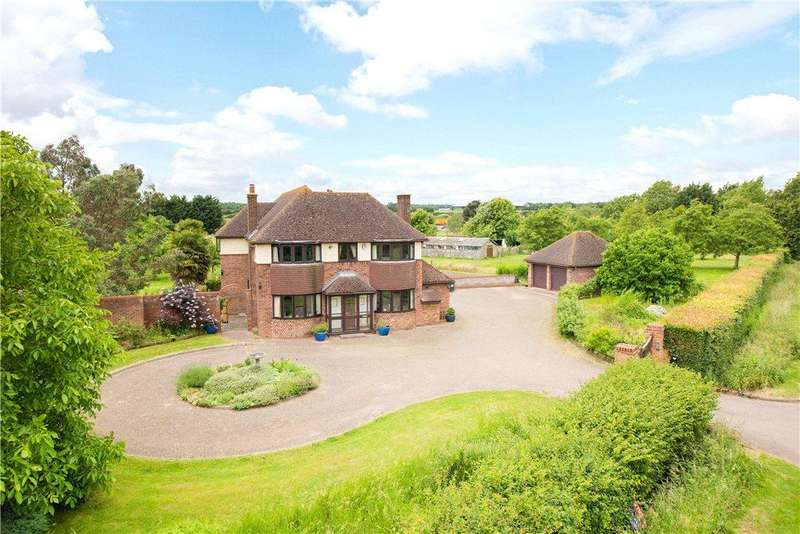 5 Bedrooms Detached House for sale in Thorncote Green, Hatch, Sandy, Bedfordshire