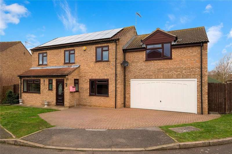 5 Bedrooms Detached House for sale in Juniper Close, Leasingham, Sleaford, Lincolnshire, NG34