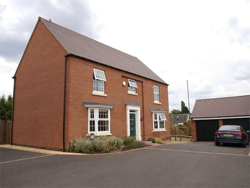 5 Bedrooms Detached House for sale in Galloway Road, Drakelow, Burton-on-Trent, Derbyshire
