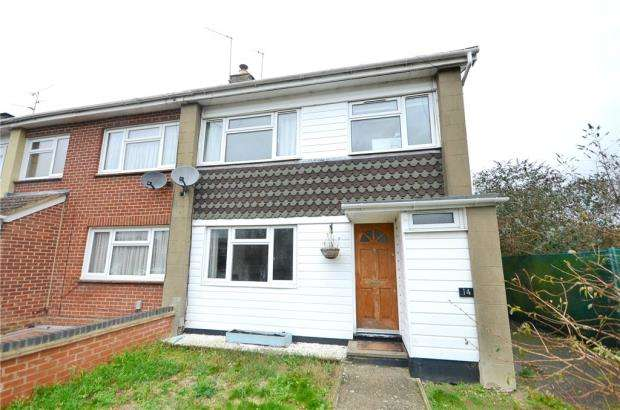 3 Bedrooms End Of Terrace House for sale in Meadow Way, Theale, Reading