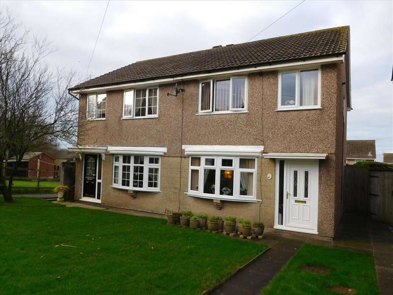 3 Bedrooms Semi Detached House for sale in Broughton Close, ASKAM-IN-FURNESS