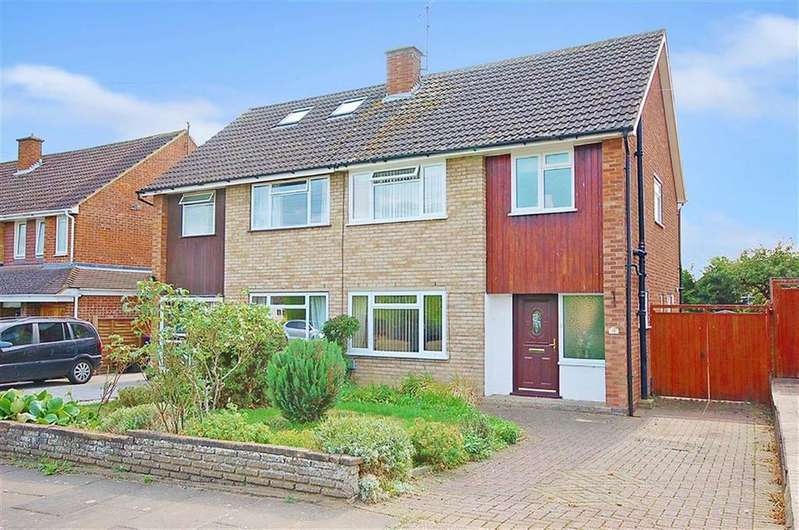 3 Bedrooms Semi Detached House for sale in Harkness Way, Hitchin, Hertfordshire