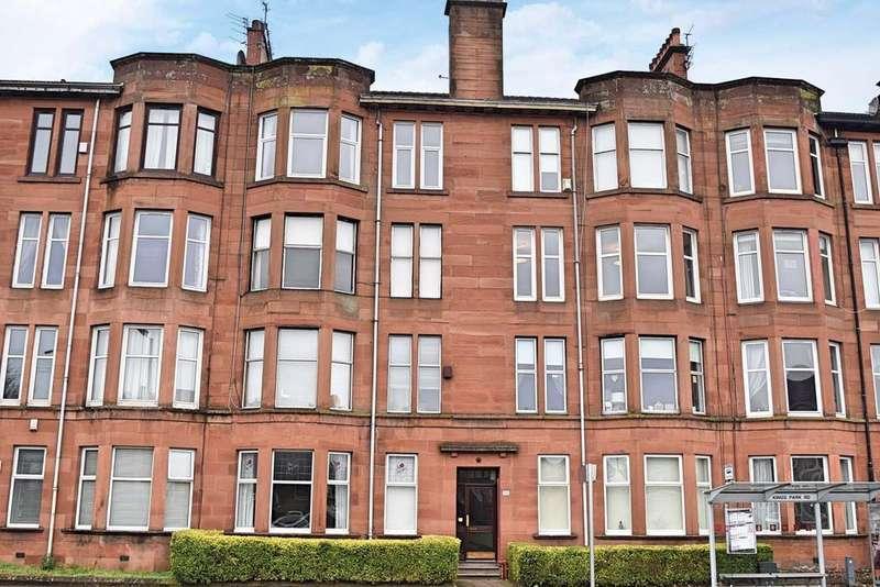 2 Bedrooms Flat for sale in Kings Park Road, Kings Park , Glasgow, G44