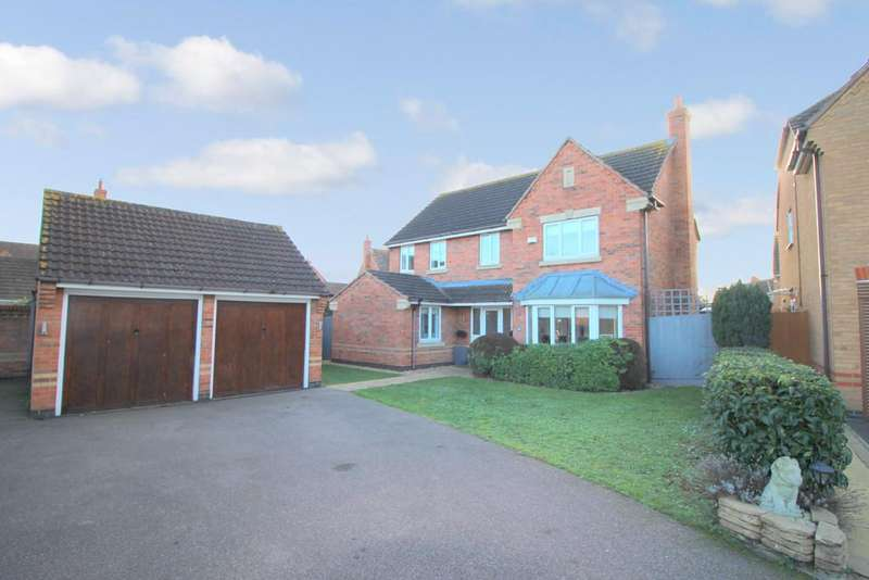 5 Bedrooms Detached House for sale in Croxden Way Elstow Bedford