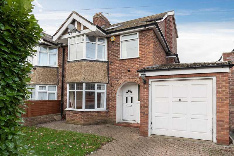 4 Bedrooms Semi Detached House for sale in Hill Rise, Kempston, Bedford