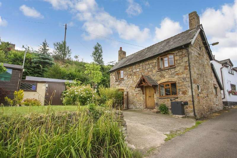 2 Bedrooms Detached House for sale in Pontfaen, Chirk, Wrexham