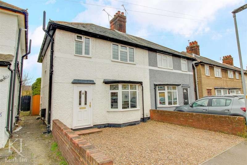 3 Bedrooms Semi Detached House for sale in Musley Hill, Ware - Huge Garden!