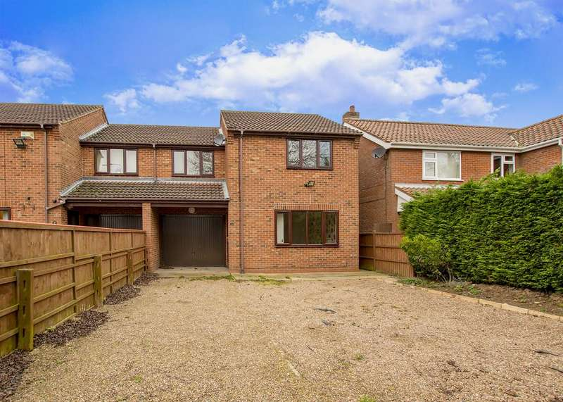 4 Bedrooms Semi Detached House for sale in Cherry Lane, Wootton, Ulceby