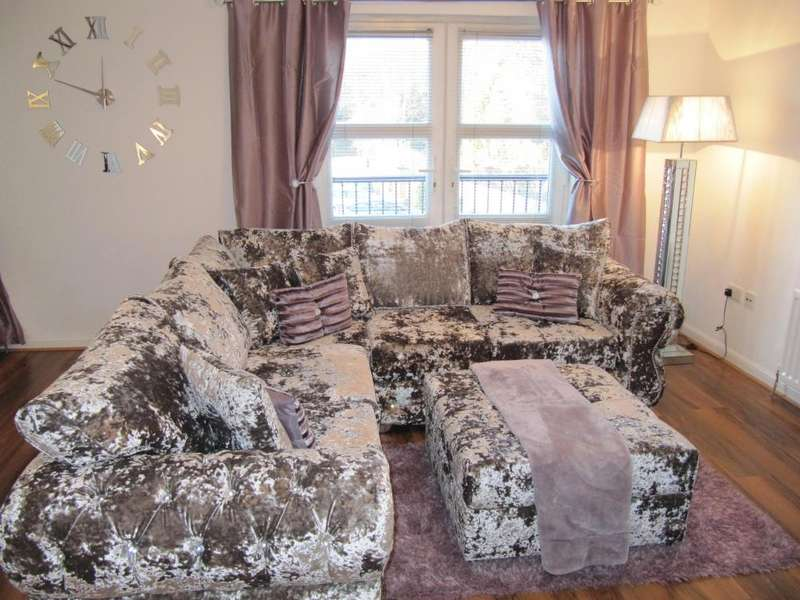 2 Bedrooms Flat for sale in 1 Littlemill Court, Flat 1/1, Bowling, G60 5BP