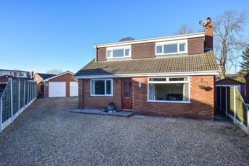 4 Bedrooms Detached Bungalow for sale in Ashfield Close, Lymm