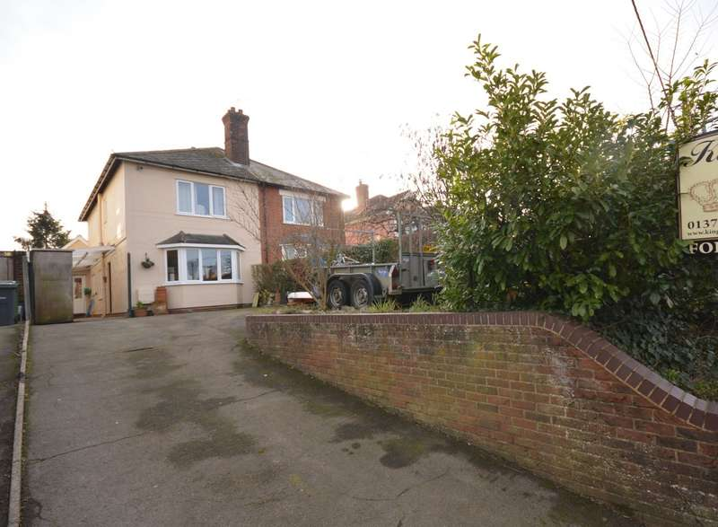 3 Bedrooms Semi Detached House for sale in Broad Road, Braintree, CM7