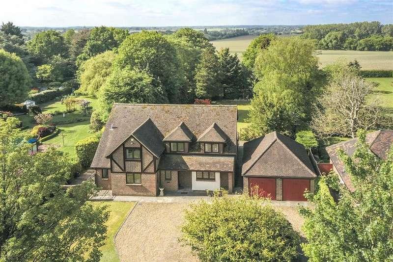 4 Bedrooms Detached House for sale in Fryerning Lane, Fryerning