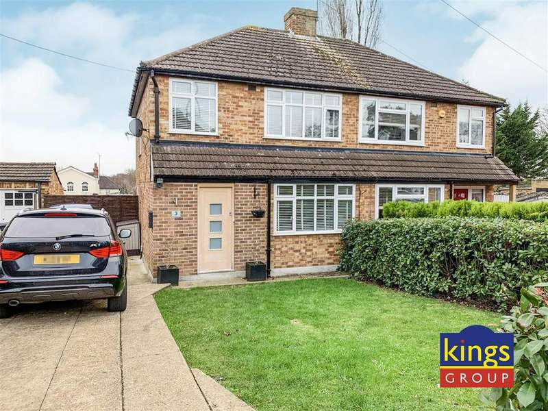 3 Bedrooms Semi Detached House for sale in Harries Court, Waltham Abbey