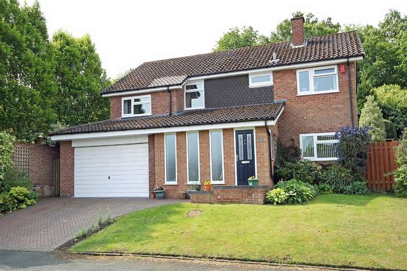 4 Bedrooms Detached House for sale in Malvern Drive, Altrincham, Cheshire