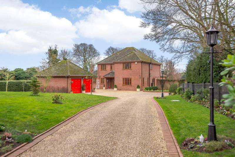 4 Bedrooms Detached House for sale in The Old Rectory, Church Lane, Withern, Alford, LN13