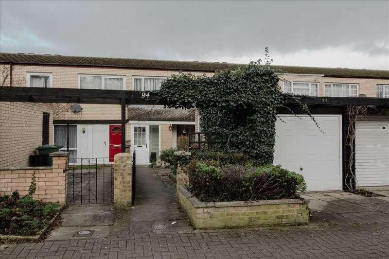2 Bedrooms Terraced House for sale in Mullen Avenue, Downs Barn, Milton Keynes