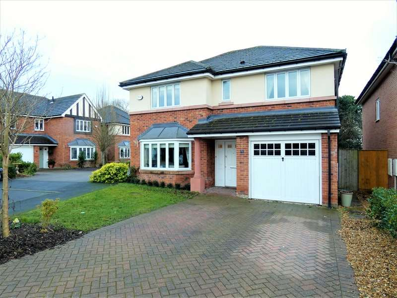 4 Bedrooms Detached House for sale in Yew Tree Avenue, Chester, Cheshire, CH1