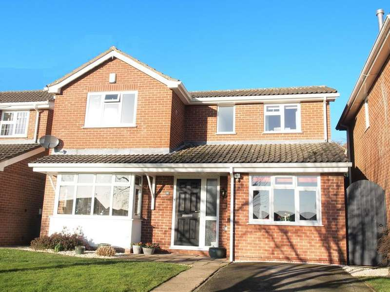 4 Bedrooms Detached House for sale in St Wilfrids Close, Kibworth Beauchamp, Leicester, LE8