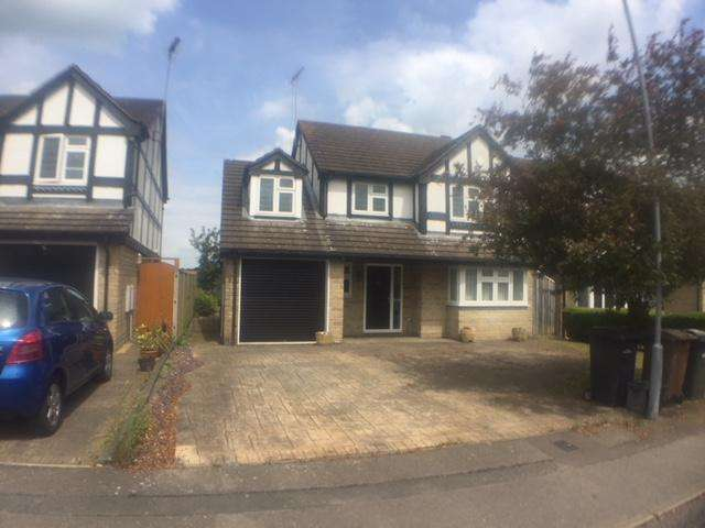 4 Bedrooms Detached House for rent in Burford CLose, LU3 4DS