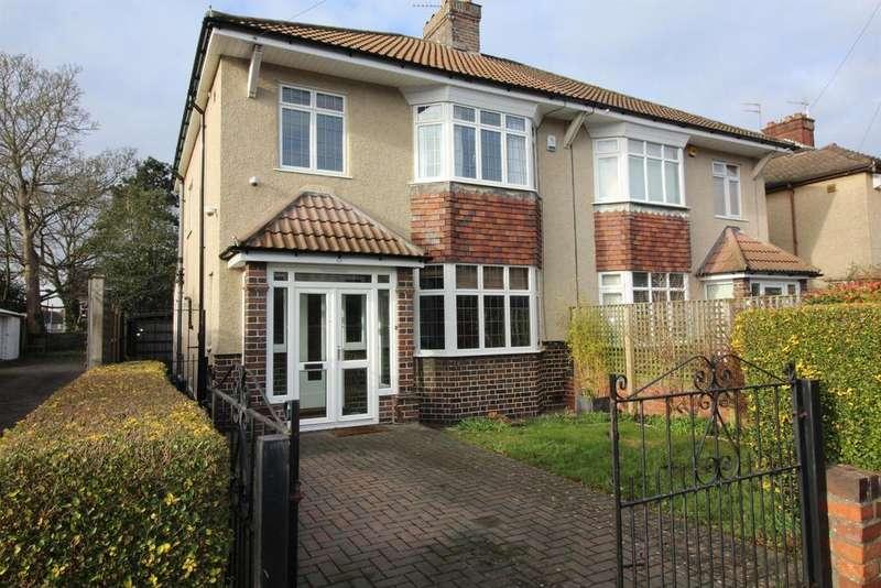 3 Bedrooms Semi Detached House for sale in Claverham Road, Fishponds, Bristol, BS16 2HS