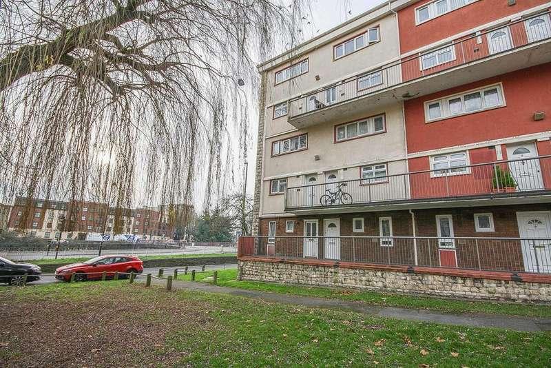 2 Bedrooms Maisonette Flat for sale in Aston House, Burton Close, Bristol, BS1 6RH