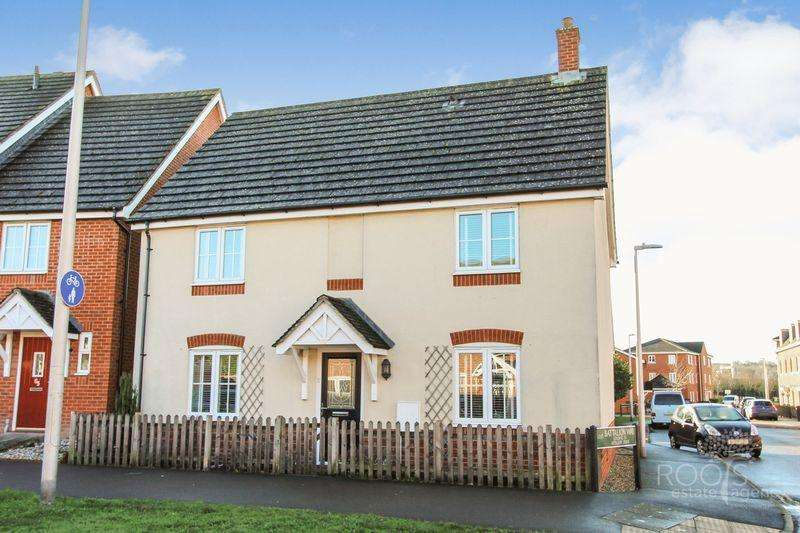4 Bedrooms Detached House for sale in Kennet Heath, South Thatcham