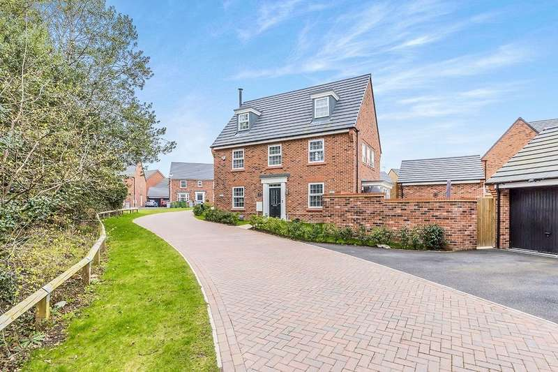 5 Bedrooms Detached House for sale in Alpine Echoes Close, Elworth, Sandbach, CW11