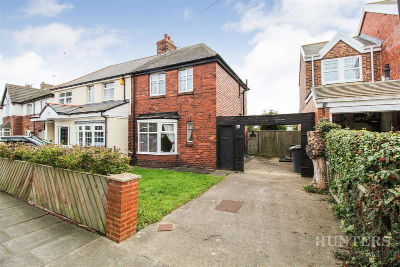 2 Bedrooms Semi Detached House for sale in Bywell Road, Cleadon, Sunderland, SR6 7QT