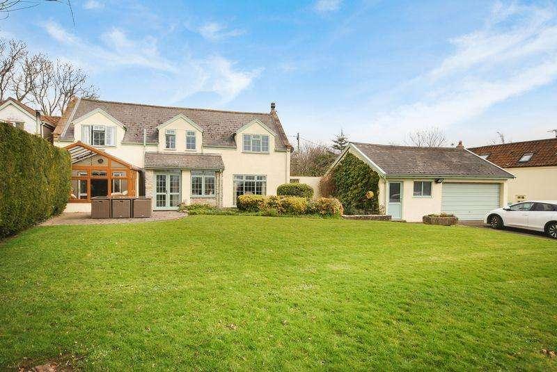 4 Bedrooms Detached House for sale in Stone Allerton, Axbridge