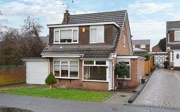 3 Bedrooms Detached House for sale in Renfrew Close, Hawkley Hall, Wigan WN3 5QF