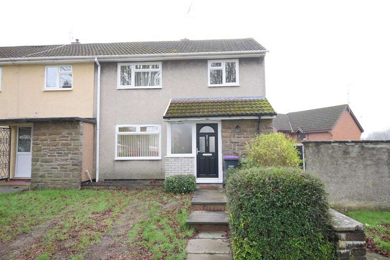 3 Bedrooms End Of Terrace House for sale in Edlogan Way, Croesyceiliog, Cwmbran, NP44