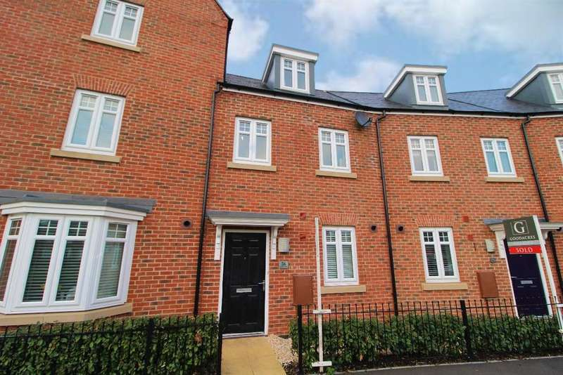 3 Bedrooms Terraced House for sale in Great Linns, Marston Moretaine, Bedfordshire, MK43