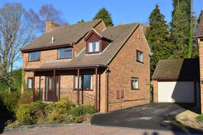 4 Bedrooms Detached House for sale in Onslow Gardens, Wimborne, Dorset