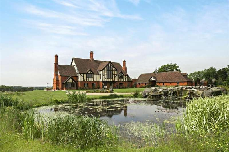 7 Bedrooms Detached House for sale in Ullenhall, Henley-In-Arden