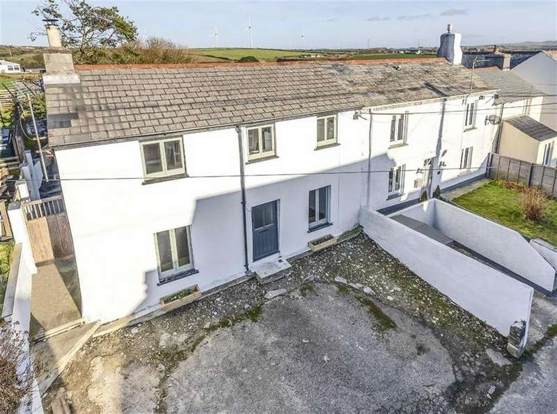 3 Bedrooms Semi Detached House for sale in Medrose Street, Delabole, Cornwall, PL33