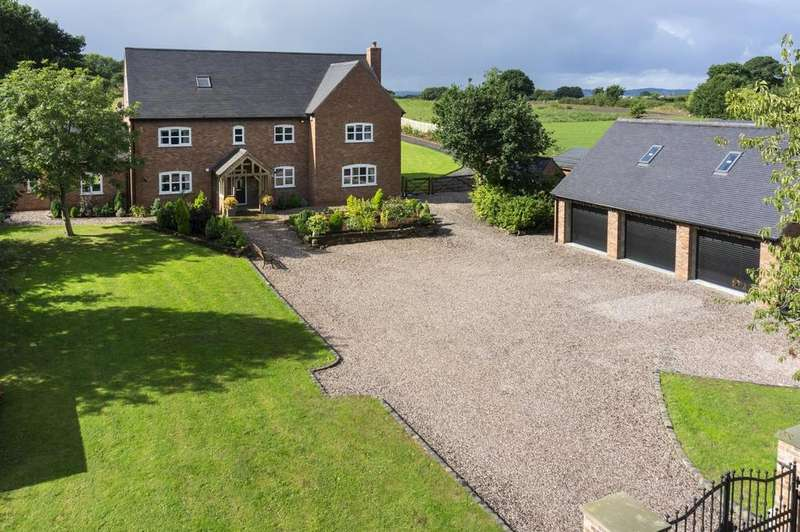 5 Bedrooms Detached House for sale in Woodbank Farm, Marsh Lane, Lower Whitley
