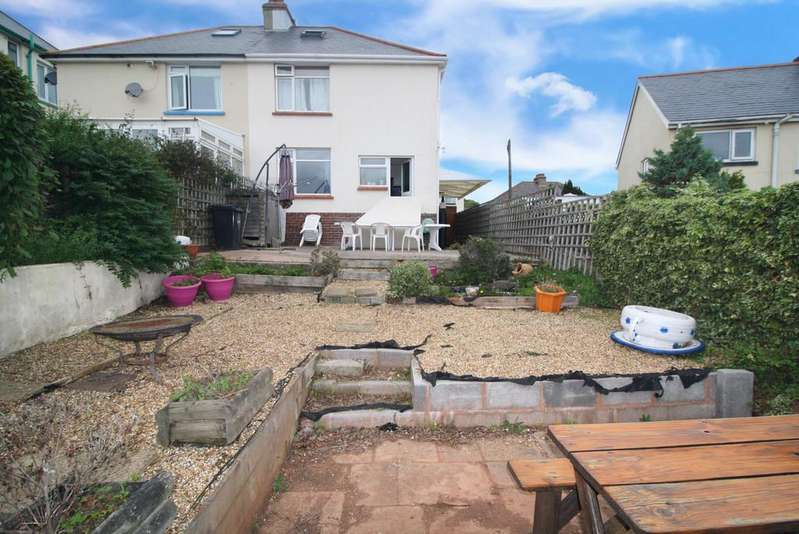 4 Bedrooms Semi Detached House for sale in Broadlands Road, Paignton