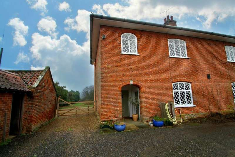 3 Bedrooms Semi Detached House for rent in Marlesford, Woodbridge