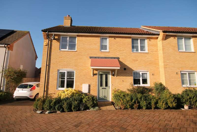 3 Bedrooms Semi Detached House for sale in Salcote Way, Brickhill, MK41