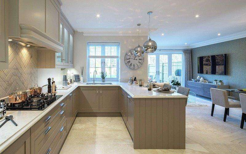 4 Bedrooms Semi Detached House for sale in Kings Ride, Ascot, Berkshire, SL5
