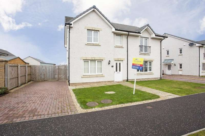 3 Bedrooms Semi Detached House for sale in Earl Matthew Avenue, Arbroath
