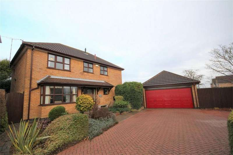 4 Bedrooms Detached House for sale in The Priors, Bedworth, Warwickshire