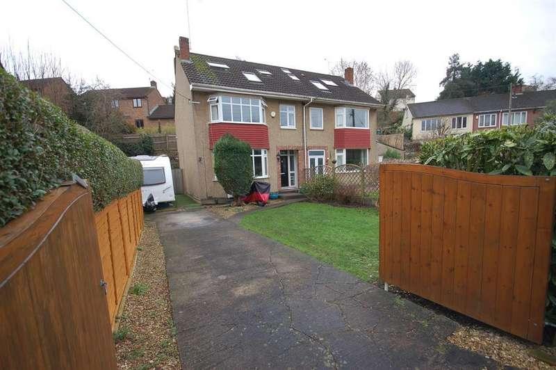 4 Bedrooms Semi Detached House for sale in Jeffries Hill Bottom, Hanham, Bristol BS15 3BG