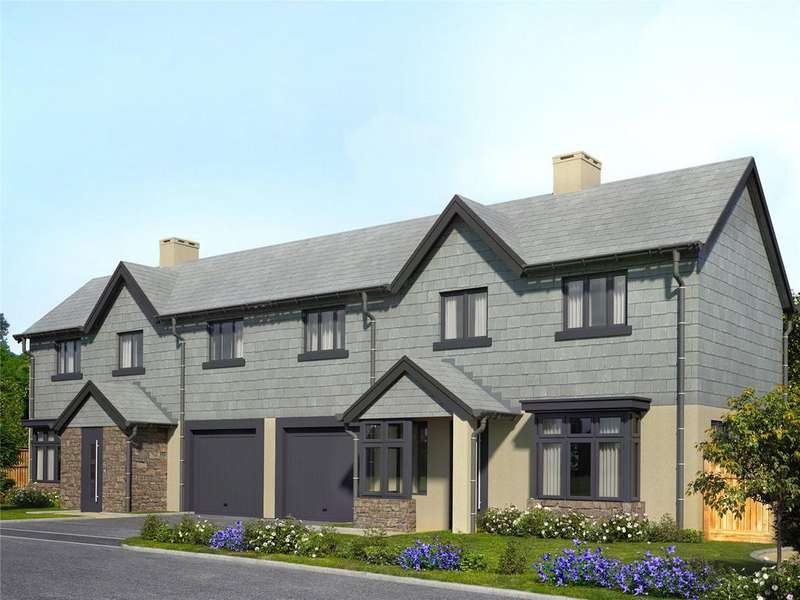 3 Bedrooms Semi Detached House for sale in Salcombe Rise, Main Road, Salcombe, Devon, TQ8