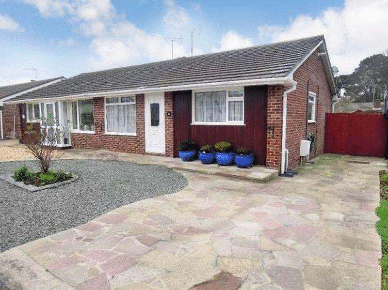 2 Bedrooms Semi Detached Bungalow for sale in Maryland Close, Townhill Park