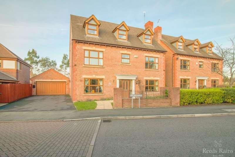 6 Bedrooms Detached House for sale in Barnwood, Little Sutton, Ellesmere Port, CH66