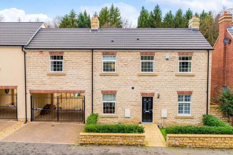 4 Bedrooms Link Detached House for sale in Bowcliffe Road, Bramham, LS23