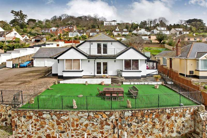 4 Bedrooms Detached House for sale in Coombe Vale Road, Teignmouth, TQ14 9EW
